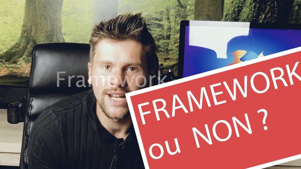 Un framework ou non en programmation web ?