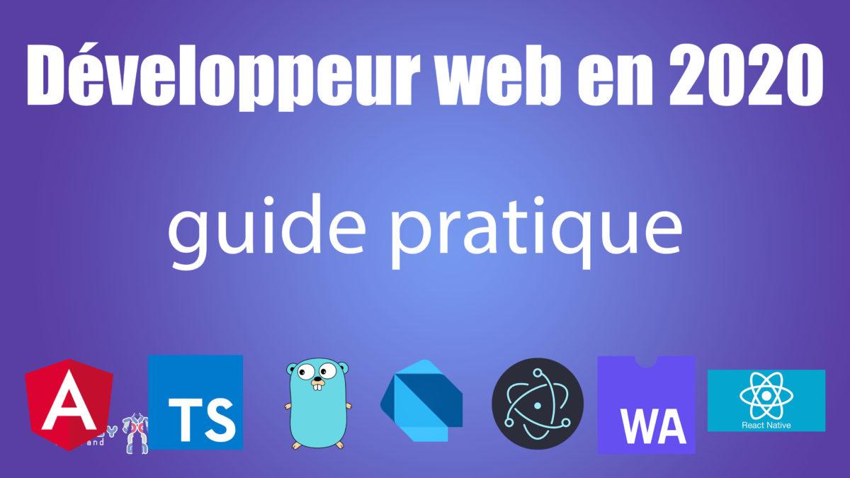 Développement web 2020