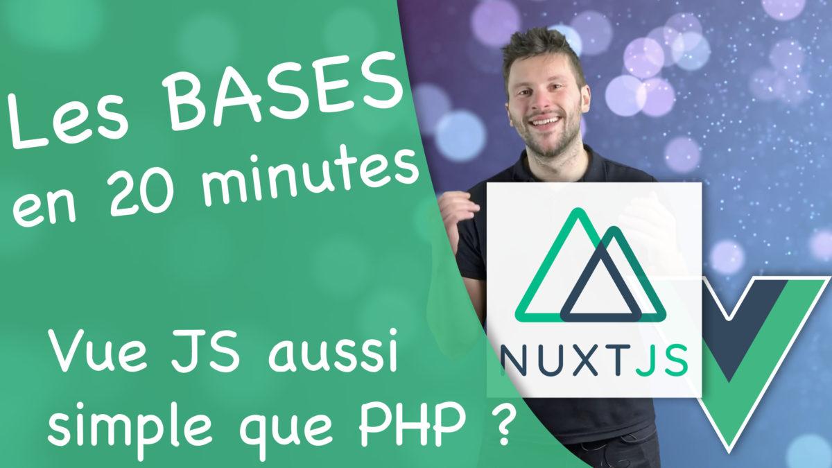 nuxt js tuto en français vidéo