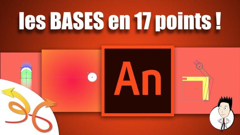 Read more about the article Découvrez les bases d'Adobe Animate CC