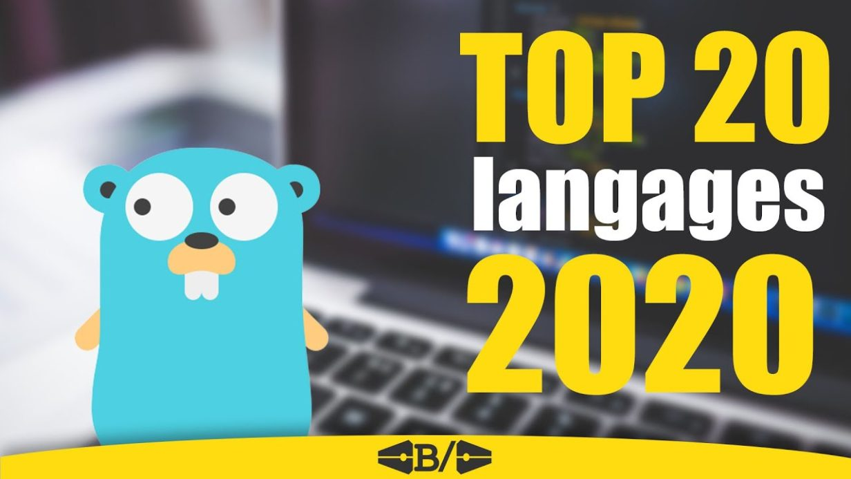 top 20 langages programmation