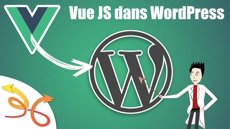 Read more about the article Intégrer VueJS dans un plugin WordPress
