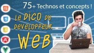 Read more about the article Le dico du développeur web : 75 technos web expliquées !