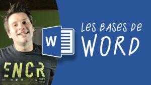 Read more about the article Les bases de Microsoft Word : tuto pour débutant