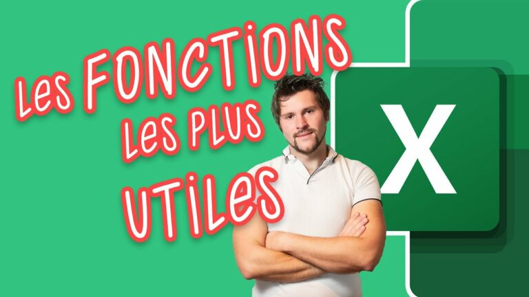 Read more about the article Excel : les formules indispensables !