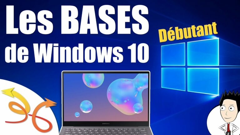 Read more about the article Cours d'informatique débutant : les bases de Windows 10