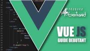 Read more about the article Initiez-vous à Vue JS 3 : tuto débutant !