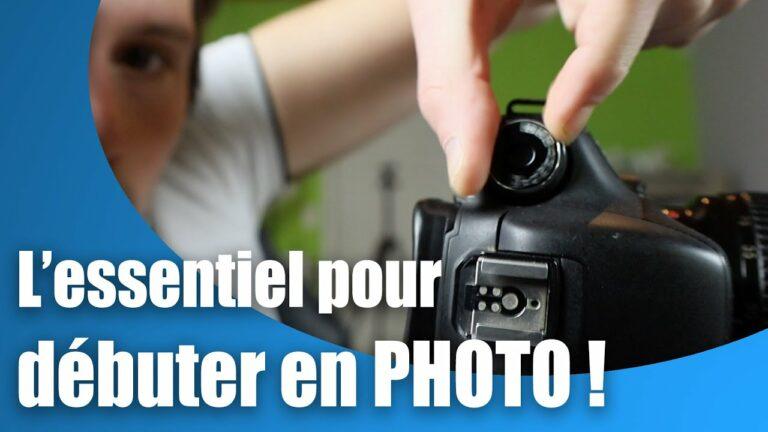 Read more about the article Les bases de la photographie