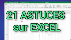 Read more about the article 21 astuces pour Excel