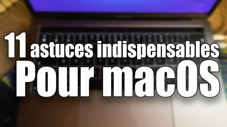 Read more about the article 11 astuces indispensables pour macOS