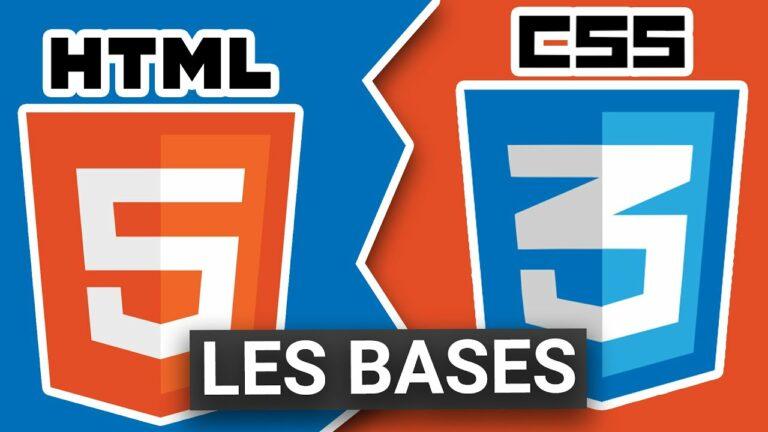 Read more about the article Apprendre à créer des sites web en HTML et CSS : tutoriel débutant