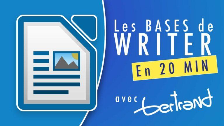 Read more about the article Apprendre à utiliser LibreOffice Writer : tutoriel pour débutant